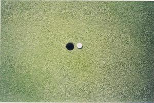 Ball Mark removed