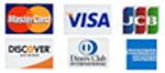 Turf-Tec International accepts MasterCard, Visa, Discover, Diners Club, JCB and American Express credit cards.