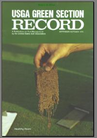 The USGA Green Section is one of the assets our nation has for turfgrass research and funding. The following was written by ALEXANDER M. RADKO, Former director of the USGA Green Section and is little retrospect of the USGA Green section. This originally appeared in the October 1978 issue of the Green Section Record.
