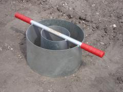 IN8-W - Turf-Tec Heavy Duty Tall Infiltration Rings 6 and 12 inch diameter by 7 inches tall.
