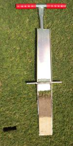 12 Inch Deep Mascaro Profile Sampler - Soil Profile Sampler that takes a twelve inch deep soil sample.