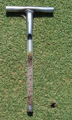 Introducing the new Turf-Tec Tubular Soil Sampler - 1/2 inch diameter soil sampler. This tool that is the smallest diameter tubular soil sampler in the business. Its 1/2 inch diameter sampling tube is made of Stainless Steel. The rugged but lightweight sampler is perfect for quick soil sampling of areas like golf greens and athletic fields without leaving behind a large hole. It will remove a clean sample to a depth of six inches in all types of soils.