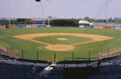May 13th, 2003 was the STMA Florida Chapter # 1 meeting at Ft. Lauderdale Stadium, spring training facility for the Baltimore Orioles.  Robert Dexter is Stadium Operations Supervisor and Ed Bylica is Head Groundskeeper.