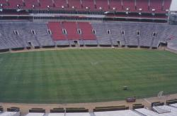 On June 27th, 2003 I attended the South Eastern Conference (SEC) sports turf meeting in Tuscaloosa, Alabama on the grounds of the University of Alabama.  This is their stadium field.