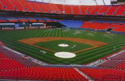 This is Pro-Player Stadium a week before opening day.  We held a Sports Turf Manages Association, Florida Chapter # 1 meeting here and had a tour of the facility.
