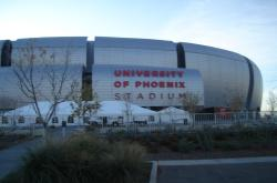The STMA Seminar on wheels took us to the University of Phoenix Stadium which also was preparing for Superbowl XLII.