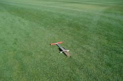 No Tour would be complete without taking a Soil Profile sample taken with the Mascaro Profile Sampler.  This sample is from the baseball outfield at the Peoria Sports Complex.  Chris Calcaterra is Sports Turf Manger at the facility.