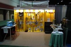 In February 2008 the Golf Industry Show (GIS) was in Orlando, Florida.  This is the Turf-Tec International booth.
