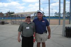 In May of 2008, I lead the Sports Turf Tour at the University of Florida in Gainesville, this is Wayne Zurburg, REC Sports Maintenance Specialist at one of the intramural complexes.