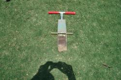 Here is a soil profile sample take from the multipurpose field at the University of Florida.  The Sample is extracted with the Mascaro Profile Sampler.
