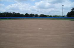 Here is one of the softball fields at the University of Florida we also toured.