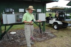 Here is Dr. Michael Dukes at the University of Florida Turfgrass Field Day in Citra talking about various moisture sensing techniques for irrigation including the Acclima Moisture Sensor.