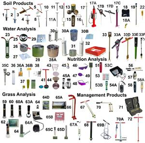 Turf-Tec International link to catalog page for diagnostic tools for sports turf managers and athletic fields