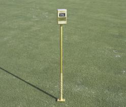"Turf-Tec pH Meter.  An easy-to-use field instrument that works directly in the soil. Check you pH in the soil profile from 1"" to 6"" deep."