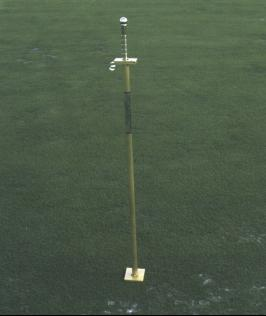Turf-Tec Penetrometer for monitoring compaction.  The Turf-Tec Penetrometer is a necessary tool to help determine problems before they become visually apparent.  It is useful in determining when to Aerify an area and also assess an area for potential problems. The center weighted shaft is simply raised above the soil surface and then the release trigger is pulled, allowing a 0.25 inch blunt penetrating point to enter the soil by gravity.