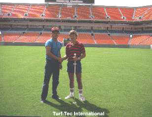 The Turf-Tec Penetrometer is also idel for use on athletic fields.